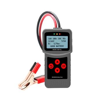 MICRO-200PRO, 12V, 24V de capacidad, analizador Digital de sistema de descarga de carga de coche, Analizador de batería automotriz de camión o motocicleta