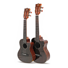 New arrival 23 Inch Rosewood Ukulele Polished Corner Concert Ukulele 4 strings Small Guitar Mini Travel Hawaii Ukelele Wholesal