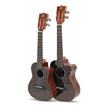 Nouveauté 23 pouces bois de rose ukulélé coin poli Concert ukulélé 4 cordes petite guitare Mini voyage Hawaii Ukelele en gros
