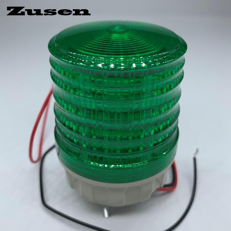 Zusen TB5051 12V Three Colors Signal Lamp Warning Light LED Small Flashing Light