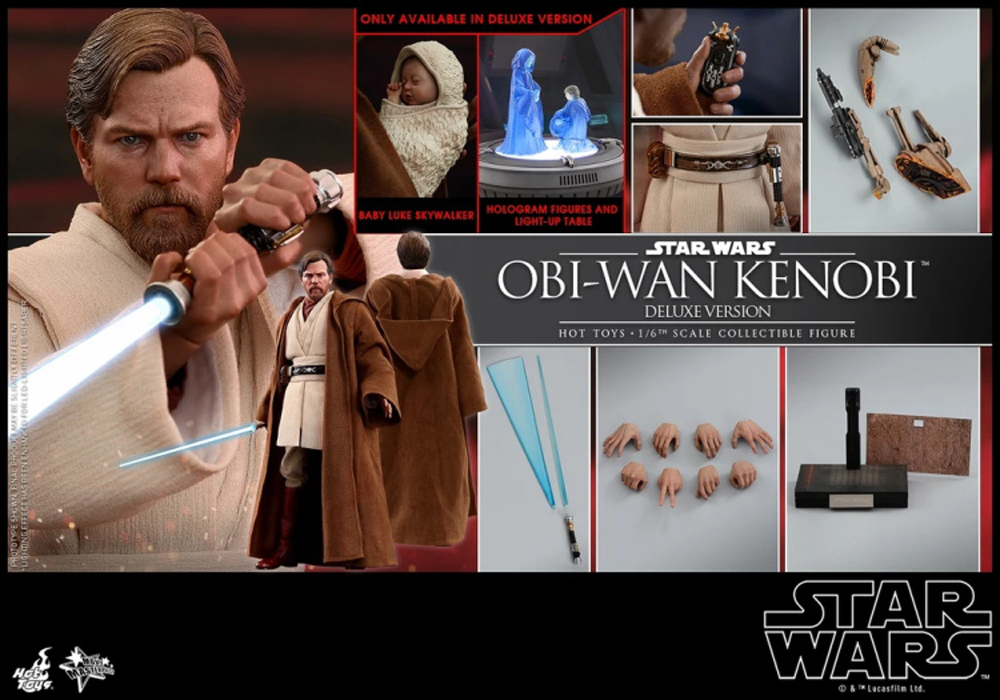 """HOT TOYS Star Wars Rey 12/"""" Staff w// Strap MMS336 fit 1//6 12 in scale figures"""