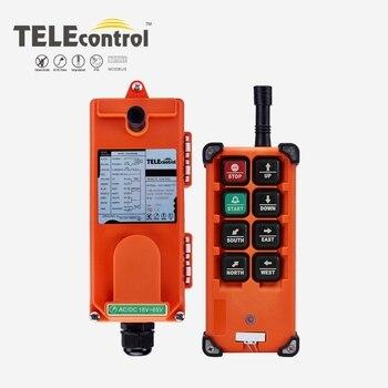 цена на TELEcontrol F21-E1B cheap price 6 single speed  wireless industrial radio remote control f21e1b for crane electric hoist