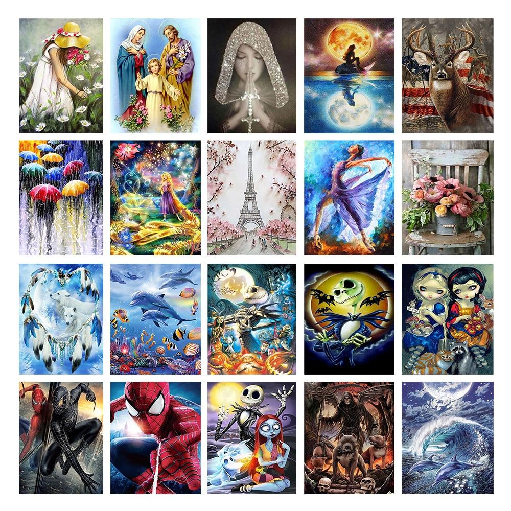 5D Diy Набор алмазных картин, полный набор круглых сверл, алмазная вышивка, мозаика, вышивка крестиком, украшение дома, подарок на Новый год