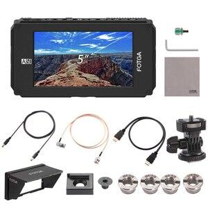 Image 5 - FOTGA A50TLS 5 بوصة FHD فيديو على الكاميرا جهاز المراقبة الميدانية IPS شاشة تعمل باللمس SDI 4K HDMI المدخلات/الإخراج ثلاثية الأبعاد LUT ل A7S II GH5