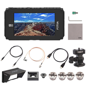 Image 5 - FOTGA A50TLS 5 Inch FHD Video On camera Field Monitor IPS Touchscreen SDI 4K HDMI Input/Output 3D LUT for A7S II GH5