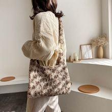 Новинка 2021 модные сумки через плечо для женщин большая емкость