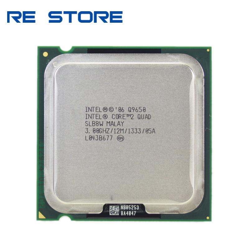 Процессор Intel Core 2 Quad Q9650 3,0 ГГц 12 Мб кэш-памяти FSB 1333 настольный процессор LGA 775