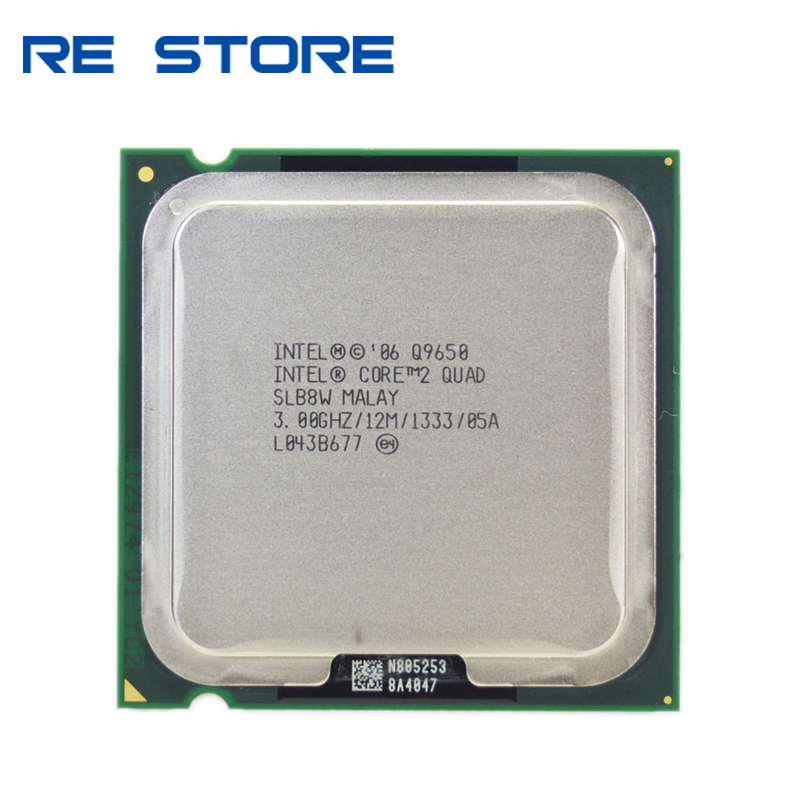 Intel Core 2 Quad-Core Processor Q9650 Socket LGA 775 3.0Ghz// 12M //1333GHz Socket 775 Desktop CPU