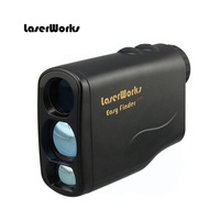 LaserWorks Laser Rangefinder for Hunting and Golf, black and camo color 600m 1500m with Slope
