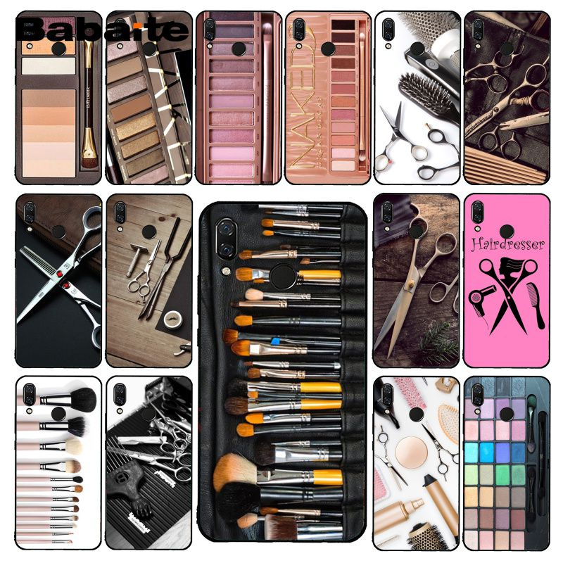 Babaite Phone-Case Makeup-Tool Naked-Palette Hair Glam Redmi4x6a Xiaomi 5-5plus Note4
