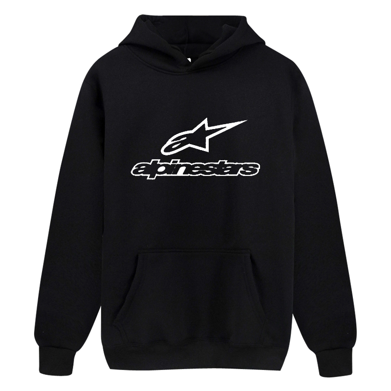 Alpinestars Print Hoodie 2020 Fashion Sweatwear Men Hooded Women Russia Hot Sale Brand Quality Fall Winter Clothing