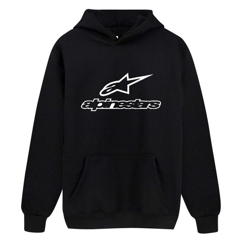 Alpinestars Print Hoodie 2020 Fashion Sweatwear Men Hooded Women Russia Hot Sale Brand Quality Fall Winter Clothing