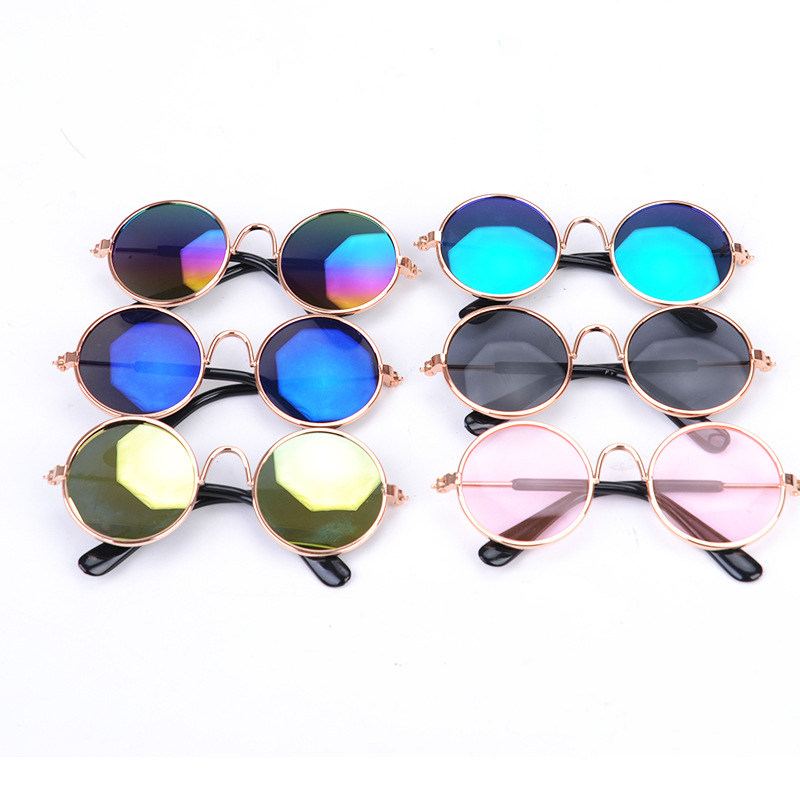 Pet Cat Dog Multicolor Optional Fashion Glasses Pet Protective Glasses Sunglasses Pet New Year Christmas Decoration