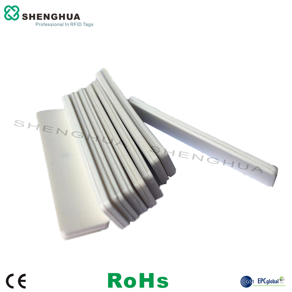 10pcs/pack High Temperature Heat Resistant Silicone Laundry UHF Passive Smart Label Washable RFID White Blank Sticker Reusable