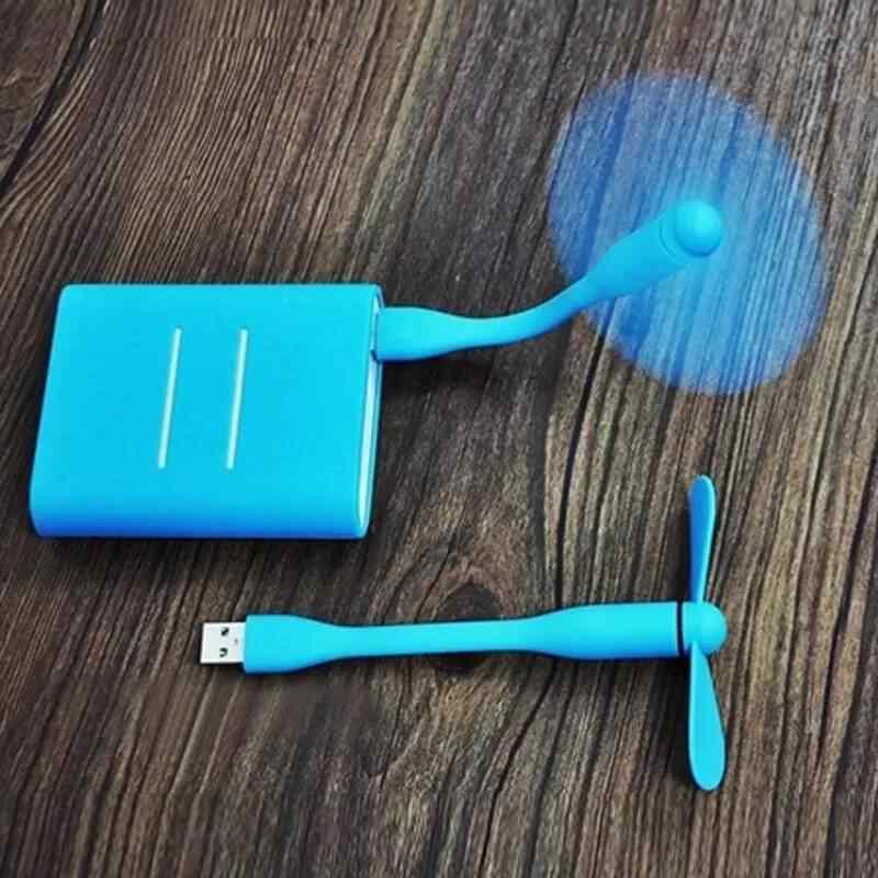 1PC Kualitas Tinggi 100% Diuji Kipas Angin Mini Portabel USB untuk Ponsel Fan Ditekuk Dapat Dilepas USB Daya Rendah Fan