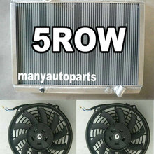 56mm New Aluminum Radiator & 2*FANS For Mitsubishi Starion 2.0 Turb