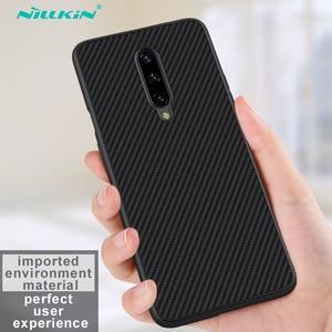 Image 2 - Pour OnePlus 7 Pro étui OnePlus 7 6 6T couverture NILLKIN étui de luxe fibre synthétique carbone PP plastique téléphone couverture arrière pour un Plus7