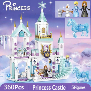 Building Blocks Compatibie legoINGlys Friends Princess Castle Building Bricks Toy Set