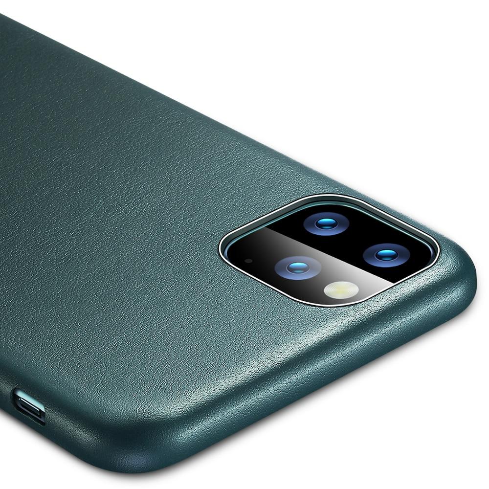 H3980816398b840a4bd10787563be26c7A ESR Case for iPhone 11 Pro Max Leather Case Cover Brand Black Green Genuine Leather Protective Cover for iPhone 11 2019 11pro