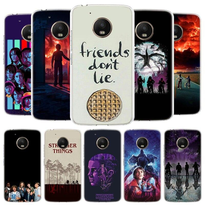Stranger Things Poster Cover Phone Case For Motorola Moto G8 G7 G6 G5S G5 E4 Plus G4 E5 E6 Play Power One Action EU Gift Shell