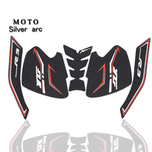 Motorcycle Tank Pad Protector Sticker Decal Gas Knee Grip Tank Traction Pad Side For Yamaha r3 2019 2020 2021 YZFR3