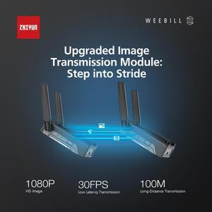 Image 5 - Zhiyun weebill s/weebill laboratório 3 eixos cardan câmera estabilizador para sony a7m3 a6500 panasonic gh4 gh5 dslr vs ronin sc guindaste 2