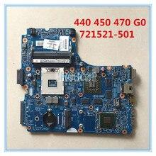 Высокое качество для 440 450 470 G0 Материнская плата ноутбука 721521-601 12241-1 48.4YW05.011 1 ГБ DDR3L 100% совместимость