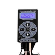 Tattoo Voeding Digitale Hp-2 Lcd Display Black Rotary Tattoo Machine Levert Permarent Make-Up Tattoo Voeding