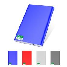 USB3.0 thin metal external hard disk drive1T 750g 500G 320G