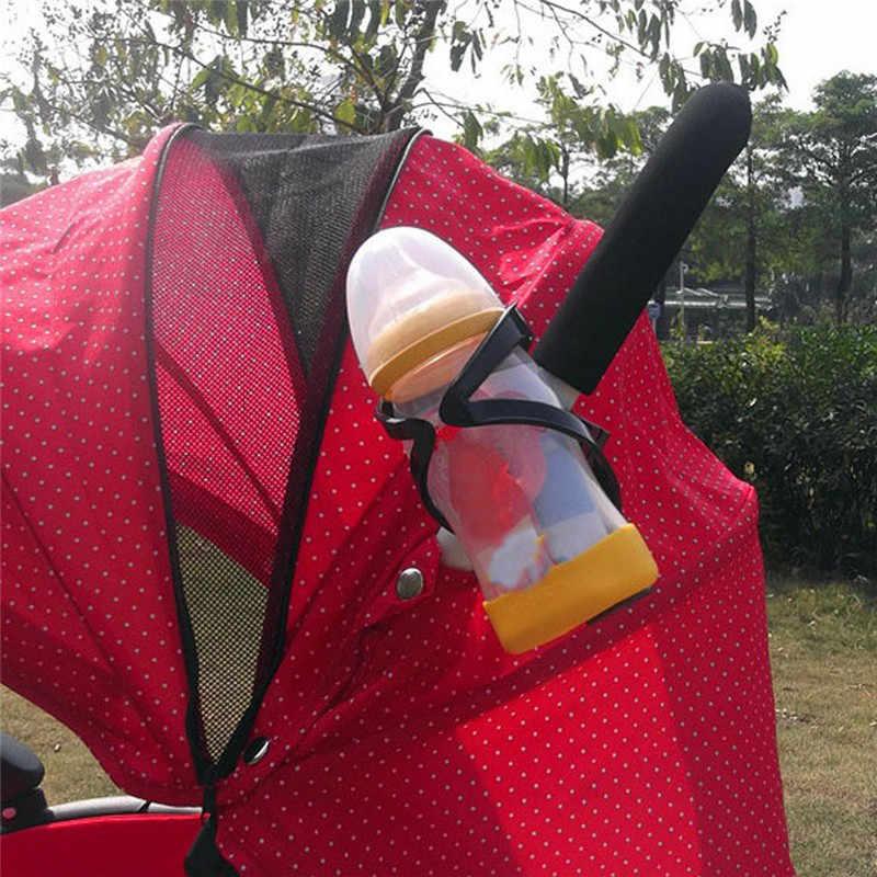 Carrinho de bebê beber garrafas titular acessórios crianças bicicleta rack de garrafa carrinhos de criança rotatable suporte de copo