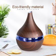 Мода 300 мл USB Ультразвуковой светодиодный светильник эфирное масло Электрический увлажнитель воздуха украшение дома Выберите дизайн, который вам нравится