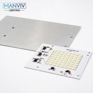 Image 5 - 5 SMD LED שבב 10W 20W 30W 50W 100W 230V מנורת שבב לא צריך נהג DIY LED הנורה מנורת LED הארה זרקור קר חם לבן