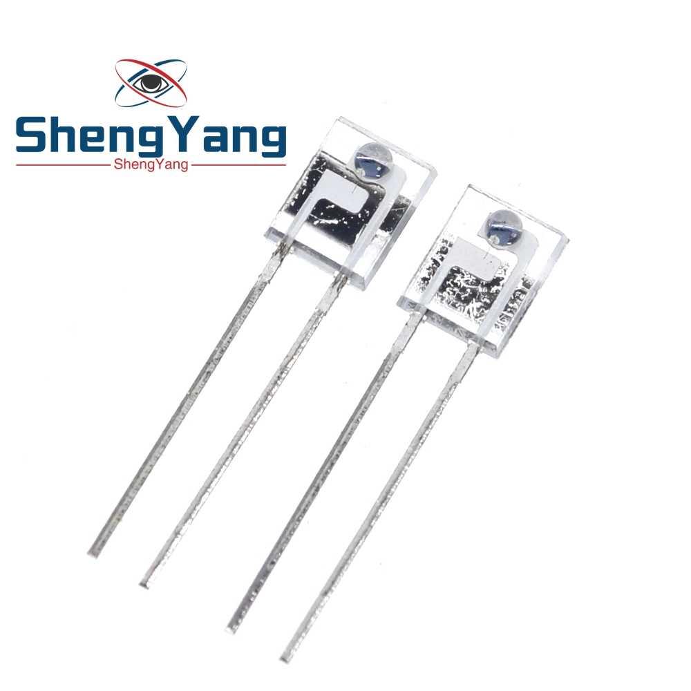 10 pçs/lote brandnew original PT908-7C-R infravermelho receber tubo quadrado lado fotossensível receber diodo