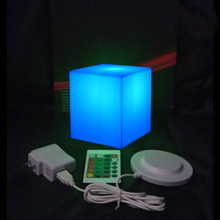 10cm Outdoor waterproof furniture led cube seat