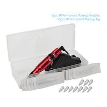 Фирма atomus Перманентная ручка для макияжа губ и микроблейдинга бровей мотор машина профессиональная татуировка бровей и губ комплект с кабелем США