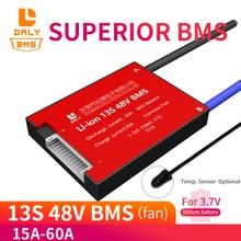 Литий полимерная батарея 18650 13S BMS 48 В, 30 А/ч, 40 А/ч, 50 а/ч, 60 А/ч, 3,7 в, защитная ячейка Pcb, балансировочный Температурный датчик опционально для скутера