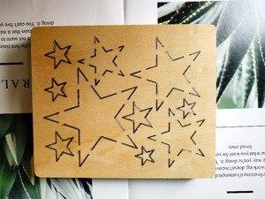 Image 5 - Verschillende Maten Pentagram Snijden Sterven Plakboek Handwerk Mes Sterven Compatibel Met Meest Stansen Machines
