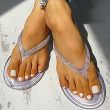 Женские Вьетнамки; Нескользящая дышащая обувь на плоской подошве; обувь с открытым носком; светильник; Повседневные тапочки