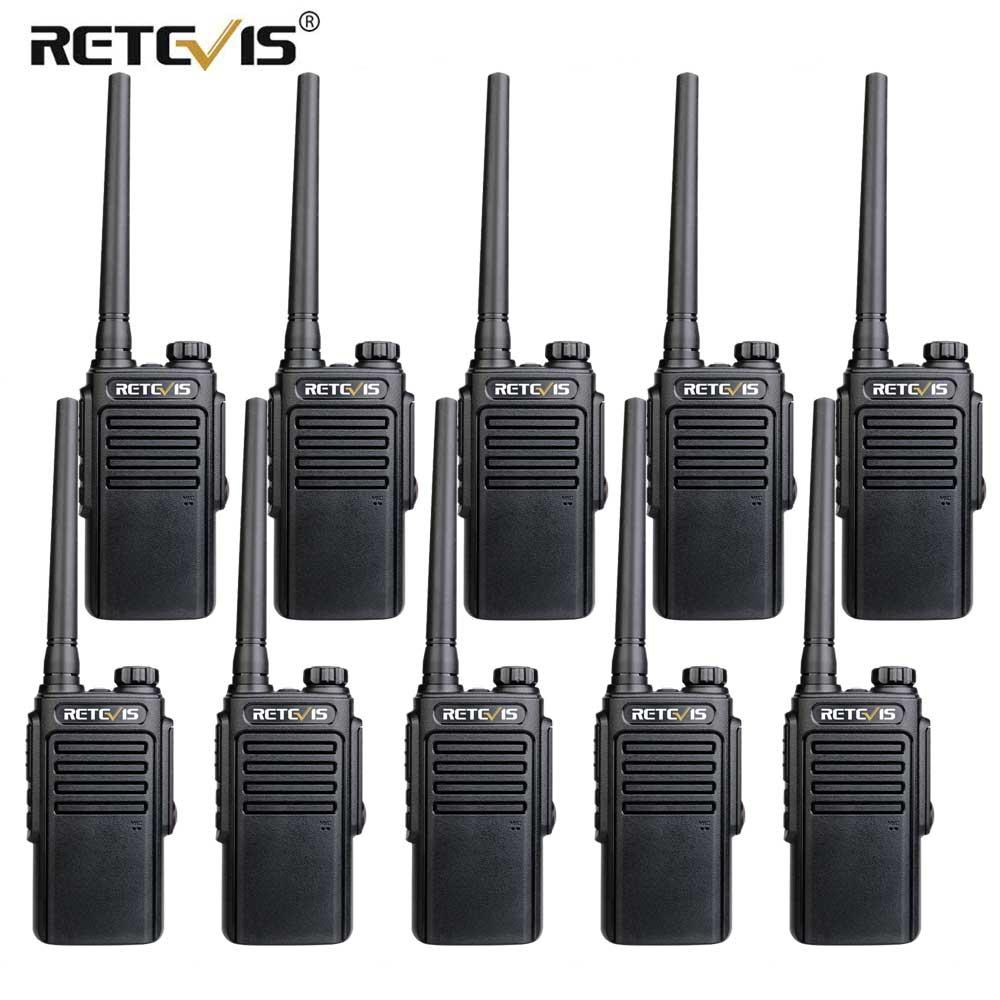 RETEVIS RT647/RT47 Walkie talkie10pzs IP67 a prueba de agua PMR Radio PMR446/FRS VOX Radio bidireccional Hotel/restaurante para Baofeng UV-9R Antena de Quad Band de Radio móvil, 144/220/350/440MHz, para walkie talkie de coche QYT KT-7900D, antena móvil de ANT-7900D