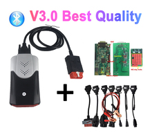 2021 Best Diagnostic V3.0 NEW Relays PCB with bluetooth 2017.R3with keygen tcs pro plus for delphis OBD2 Scanner tool with CASE