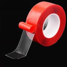 Nano – ruban adhésif magique Double face 3M, Transparent, ne laisse pas de trace, réutilisable, étanche, lavable, pour la maison