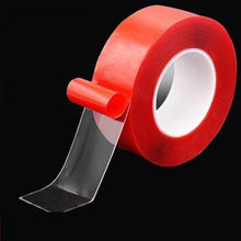 Cinta mágica Nano 3M, cinta adhesiva transparente de doble cara, reutilizable, impermeable, lavable, para el hogar
