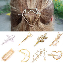 Hair-Clip Stick Pearl Women Barrette Headwear Heart Girls Fashion Children Glamour