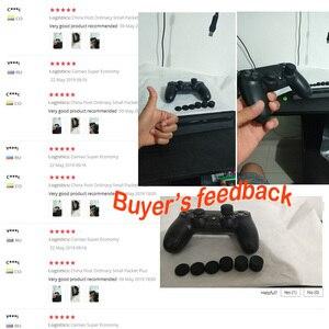 Image 4 - Bevigac 8 sztuk miękkiego silikonu podwyższone antypoślizgowe uchwyt na kciuk kij Cap pokrywy skrzynka skóry dla Sony Play Station 4 PS 4 PS4 akcesoria