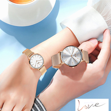 LIGE 2020 Couple Watches For Lovers Top Brand Luxury Quartz