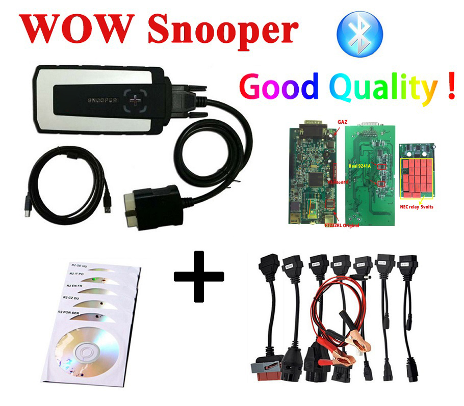 Image 2 - 2019 obd2 best V3.0 PCB VD DS150E CDP 2016.R0 keygen bluetooth diagnostic tool for delphis autocome WOW cdp 8 pcs car cables-in Car Diagnostic Cables & Connectors from Automobiles & Motorcycles