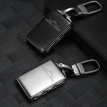 Hohe Qualität Auto Aluminium Key Fob Shell Ersatz Für Volvo xc60 xc90 s90 v90 XC60 XC90 XC40 S90 V90 2018