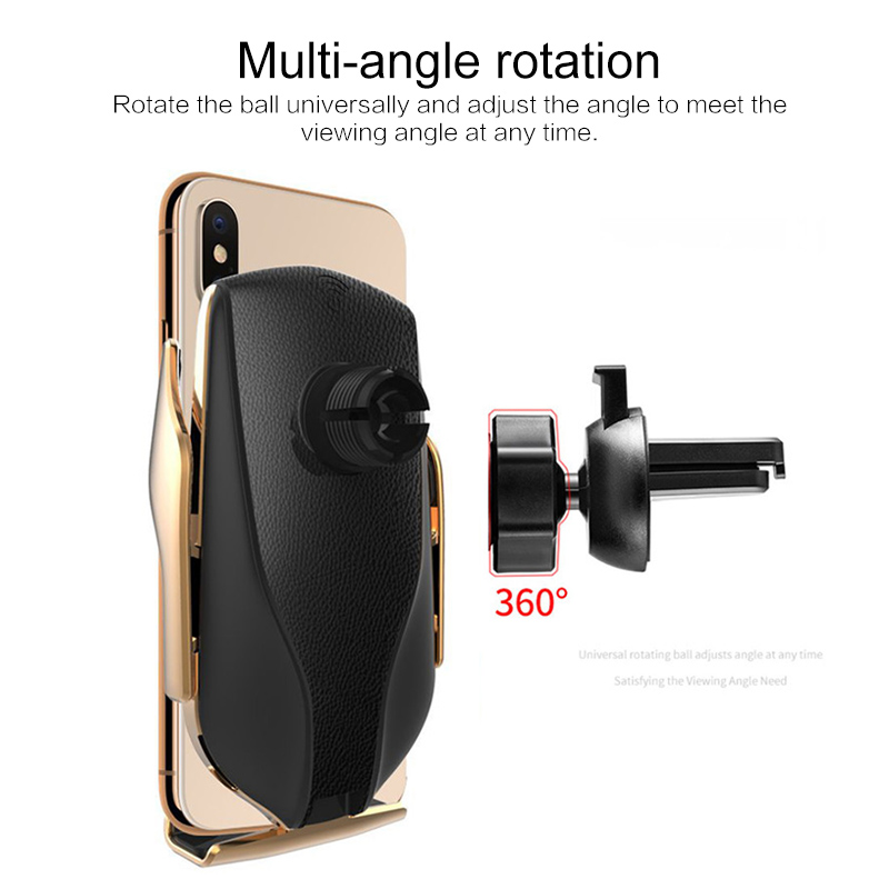 Luggage - Automatic Sensor Car Phone Holder and Charger
