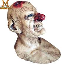 Molezu Goblins Big Nose Horror Latex Mask Creepy Costume Party Cosplay Props Scary Clown Mask For Halloween