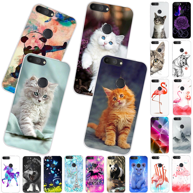 <font><b>Phone</b></font> <font><b>Case</b></font> <font><b>for</b></font> <font><b>Alcatel</b></font> 1S 2019 Soft Silicone <font><b>Case</b></font> Cute Cat Panda Animal <font><b>Case</b></font> Colored Pattern <font><b>Alcatel</b></font> <font><b>1</b></font> S <font><b>Phone</b></font> Back Cover <font><b>Case</b></font> image